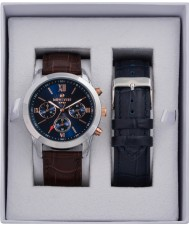 minster MN-SET7 Mens Watch and Strap Gift Set