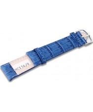 Krug Baümen MC1568L Sky Blue Leather Replacement Ladies Principle Strap