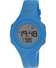 Puma PU911092007 Twist S Blue Silicone Strap Watch