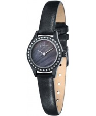 Fjord FJ-6011-03 Ladies Marina 2 Hand All Black Watch