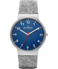 Skagen SKW6092 Mens Ancher Grey Felt Strap Watch