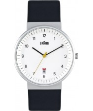 Braun BN0032WHBKG Mens All White Black Watch