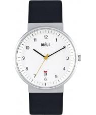 Braun BN0032WHBKG Mens All White Black Watch