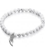 Shimla Ladies Howlite Charm Bracelet
