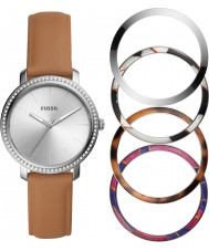 Fossil BQ3570SET Ladies Luther Watch and Bezels Gift Set