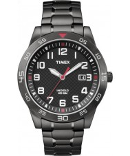 Timex TW2P61600 Mens Fieldstone Way Black Steel Bracelet Watch