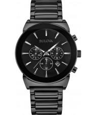 Bulova 98B215 Mens Dress Black Chronograph Watch