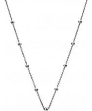 """Emozioni CH050 24"""" Sterling Silver Intermittent Bead Chain"""