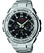 Casio GST-W110D-1AER Mens G-Shock Radio Controled Solar Powered Silver Watch