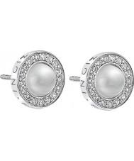 Emozioni DE460 Ladies Pearl Sterling Silver Earrings