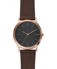 Skagen SKW6330 Mens Jorn Dark Brown Leather Strap Watch
