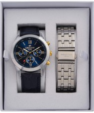 minster MN-SET9 Mens Watch and Strap Gift Set