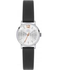 Orla Kiely OK2041 Ladies Frankie Black Leather Strap Watch