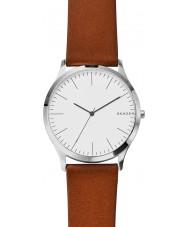 Skagen SKW6331 Mens Jorn Light Brown Leather Strap Watch