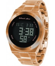 Black Dice Mens Slick Gold Touch Screen Watch