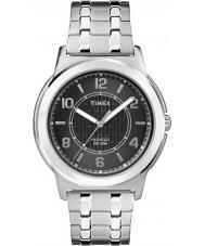 Timex TW2P61800 Mens Bank Street Silver Steel Bracelet Watch