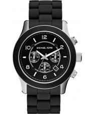 Michael Kors MK8107 Mens Runway Black Chronograph Watch