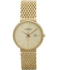 Rotary GB10900-03 Mens Precious Metals 9ct Gold Watch
