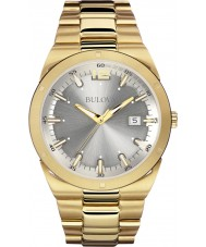 Bulova 97B137 Mens Dress Gold Plated Watch