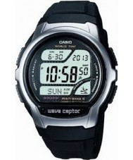 Casio WV-58U-1AVES Mens Wave Ceptor Illuminator Black Resin Watch
