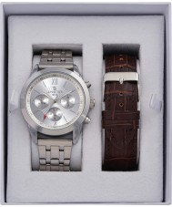 minster MN-SET10 Mens Watch and Strap Gift Set
