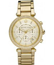 Michael Kors MK5354 Ladies Gold Plated Chronograph Watch
