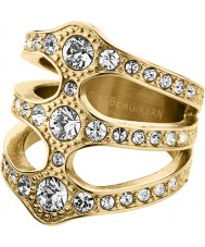 Dyrberg Kern 333764 Ladies Robinia Crystal Ring - Size S