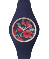 Ice-Watch 001440 Ice-Flower Exclusive Blue Silicone Strap Watch