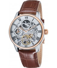 Thomas Earnshaw ES-8006-03 Mens Longitude Brown Leather Strap Watch