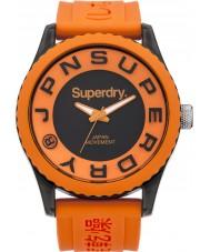 Superdry SYG145O Mens Tokyo Orange Silicone Strap Watch