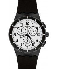 Swatch SUSB401 Chrono Plastic - Twice Again Black Watch