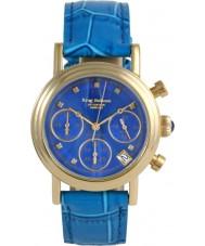 Krug-Baumen 150584DL Enterprise Diamond Blue-Gold Dial