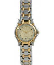 Krug Baümen 4122KL Ladies Marquis Two Tone Gold Dial