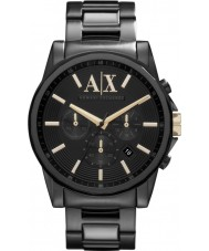 Armani Exchange AX2094 Mens All Black Chronograph Dress Watch