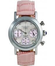 Krug Baümen 150585DL Enterprise Diamond Pink Dial