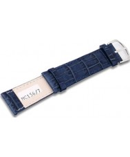Krug Baümen MC1567G Deep Sea Blue Leather Replacement Mens Principle Strap