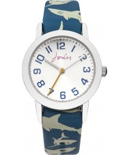 Joules JS009 Boys Watch with Printed and Plain Interchangeable Straps