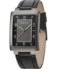 Police 10231MSU-61 Mens Dignity Black Leather Strap Watch