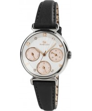 Radley RY2243 Ladies Multi Dial Watch with Black Leather Strap