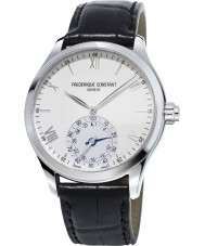 Frederique Constant FC-285S5B6 Mens Horological Smartwatch Black Leather Strap Watch