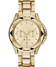 Karl Lagerfeld KL1053 Ladies Karl 7 Gold Chronograph Watch