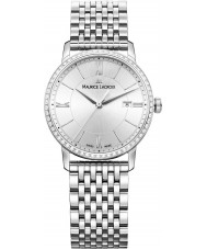 Maurice Lacroix EL1094-SD502-110-1 Ladies Eliros Silver Steel Bracelet Watch