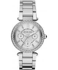 Michael Kors MK5615 Ladies Parker Silver Tone Watch