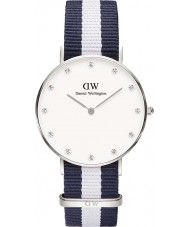 Daniel Wellington DW00100082 Ladies Classy Glasgow 34mm Silver Watch