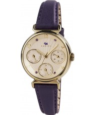 Radley RY2244 Ladies Multi Dial Watch with Purple Leather Strap