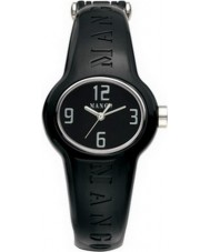 Mango QM731-99-01 Ladies Bango Black Dial With Ceramic Plastic Case Watch