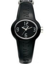 Mango QM731-99-01 Ladies Bango Black Dial With Ceramic Plastic Case Watch