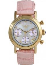 Krug-Baumen 150586DL Enterprise Diamond Pink-Gold Dial