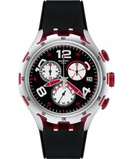 Swatch YYS4004 Irony X-Lite Red Wheel Watch