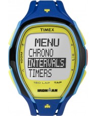 Timex TW5M00900 Ironman 150-Lap Full Size Sleek Blue Resin Strap Chronograph Watch